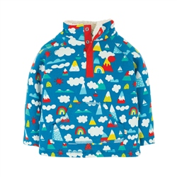 Frugi Little Snuggle Fleece - Rainbow