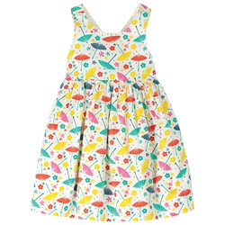 Frugi Porthcurno Party Dress - White