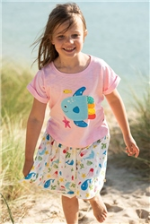 Frugi Fiona Full Skirt - Splash
