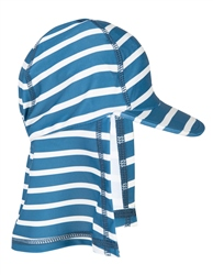 Frugi Little Swim Legionnaires Hat - Blue