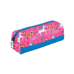 Frugi Crafty Pencil Case - Pink Unicorn