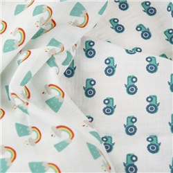 Frugi Lovely 2 Pack Muslin - Rainbow