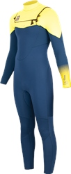Alder Revo 4/3mm Chest Zip Wetsuit (2020) - Yellow
