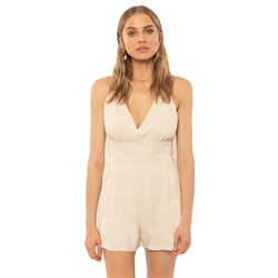 Amuse Society Leila Playsuit - Off White