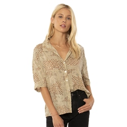 Amuse Society Wildcat Shirt - Natural