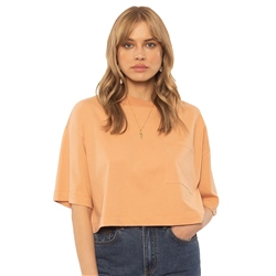 Amuse Society Easy Life Top - Coral Sand