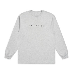 Brixton Cantor T-Shirt - Heather Grey