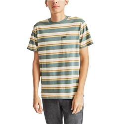 Brixton Hilt Pocket Knit T-Shirt - Cypress