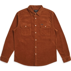 Brixton Bowery Flannel Shirt - Hide