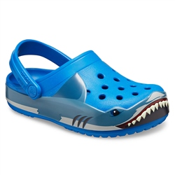 Crocs Fun Lab Shark Clog - Bright Cobalt