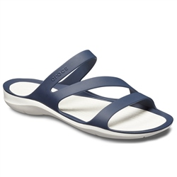 Crocs Swiftwater Sandal - Navy & White
