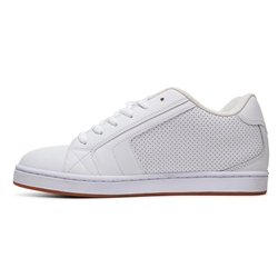 DC Shoes Net Shoe - White & Gum