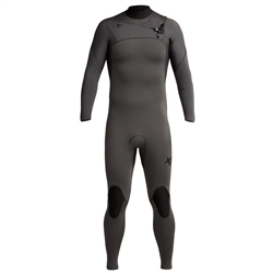 Xcel Comp 4/3mm Chest Zip Wetsuit - Jet Black (2020)
