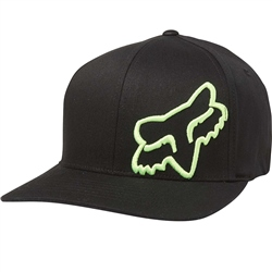 Fox Flex 45 Flexfit Cap - Black & Green