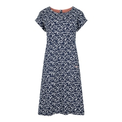 Weird Fish Tallahassee Dress - Dark Navy