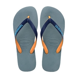 Havaianas Top Mix Flip Flops - Silver Blue