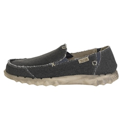 Hey Dude Shoes Farty Natural Shoes - Natural Black