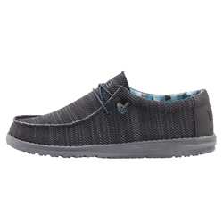 Hey Dude Shoes Wally Sox Shoes - Charcoal