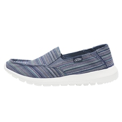 Hey Dude Shoes Ava Ibiza Stripe Shoes - Ibiza Stripe Blue