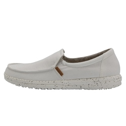 Hey Dude Shoes Misty Chambray Shoes - White