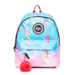 Hype Mermaid Backpack - Blue & Pink Mermaids