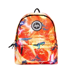 Hype Predator Backpack - Red & Yellow