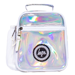 Hype Holographic Lunch Box - Pink Holograph
