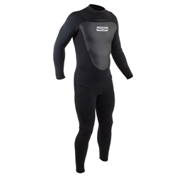 Gul Response 3/2mm Back Zip Wetsuit - Black (2020)