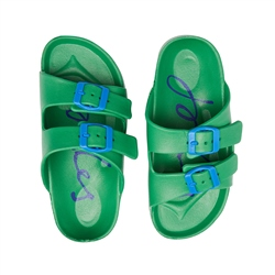 Joules Junior Shore Sandals - Green
