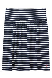 Joules Tayla Skirt - Navy Cream Stripe