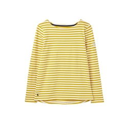 Joules Harbour T-Shirt - Gold Stripe