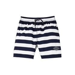 Joules Ocean Swimshorts - Navy White Stripe