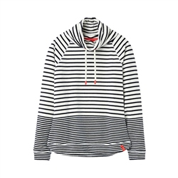 Joules Mayston Sweatshirt - Cream Navy Stripe