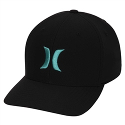 Hurley Dri-FIT One & Only Cap - Black & Neptune Green