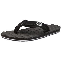 Clothing & Accessories Recliner Flip Flops - Black & White