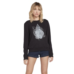 Volcom Sound Check Sweatshirt - Black