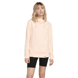 Volcom Walk On By High Neck Sweatshirt - Light Peach