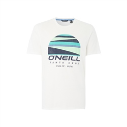 O'Neill Sunset Logo T-Shirt - Powder White