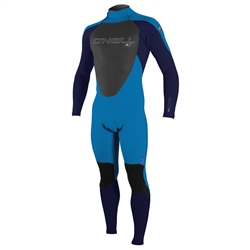 O'Neill Boys Epic 3/2mm Back Zip Wetsuit - Ocean & Abyss (2020)
