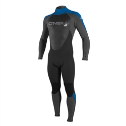 O'Neill Epic 3/2mm Back Zip Wetsuit - Black, Graph & Ocean (2020)