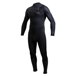 O'Neill HyperFreak FUZE 3mm Chest Zip Wetsuit - Black