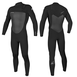 O'Neill Epic 4/3mm Chest Zip Wetsuit - Black (2020)