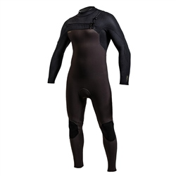 O'Neill HyperFreak FUZE 4/3mm Chest Zip Wetsuit - Raven & Black (2020)