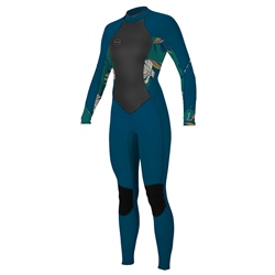 O'Neill Bahia 3mm Back Zip Wetsuit - French Navy & Bridget
