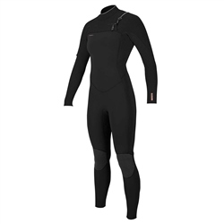 O'Neill HyperFreak FUZE 4mm Chest Zip Wetsuit- Black