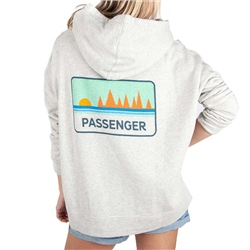 Passenger First Light Hoody - Grey Marl