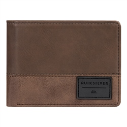 Quiksilver Native Country II Wallet - Chocolate Brown