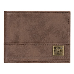 Quiksilver New Stitchy Wallet - Chocolate