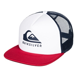 Quiksilver Foamslayer Trucker Cap - White