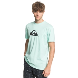 Quiksilver Comp Logo T-Shirt - Beach Glass